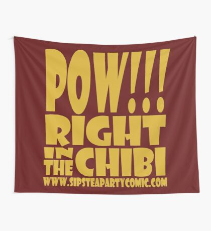 STPC: Pow!!! Right in the Chibi 1.0 Wall Tapestry
