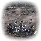 Motocross Racing - Rider Down Action Shot Gorman, CA by leih2008