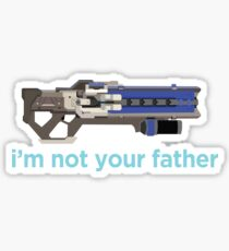 i'm not your father Sticker