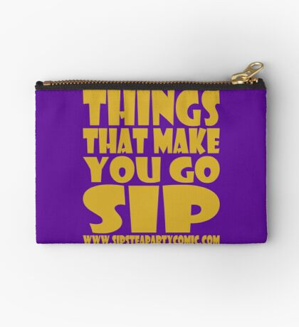 STPC: Things That Make You Go Sip 1.0 Studio Pouch