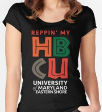 HBCU-UMES Women's Fitted Scoop T-Shirt