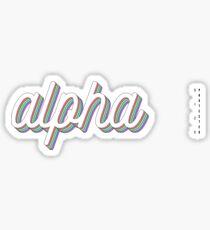 *UPDATED* 3D layered - alpha Sticker