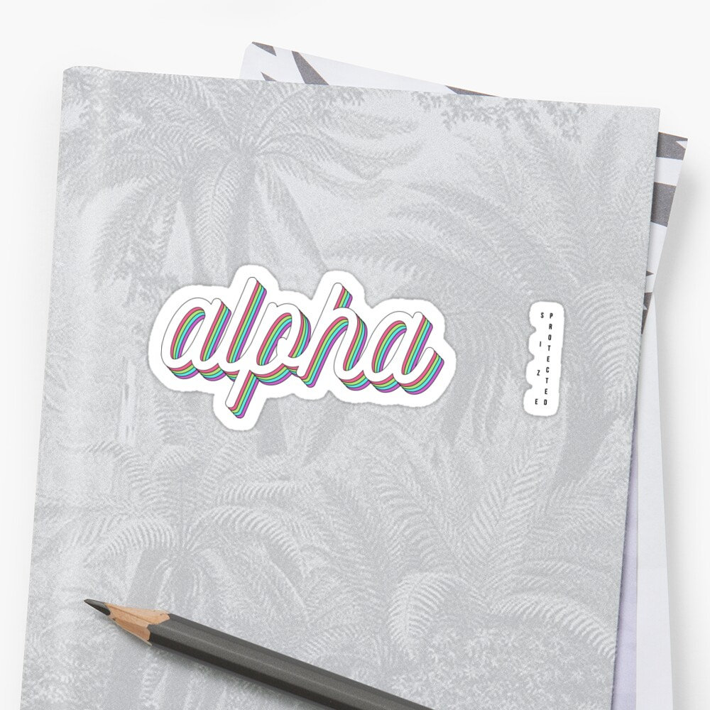 *UPDATED* 3D layered - alpha by arielledesigns