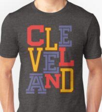 CLEVELAND Team Triple Threat Unisex T-Shirt