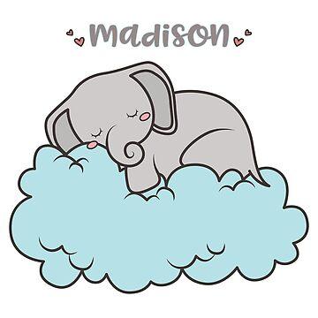 Sleepy Elephant - Madison by lenorelocken