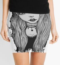 Alternative girl Mini Skirt