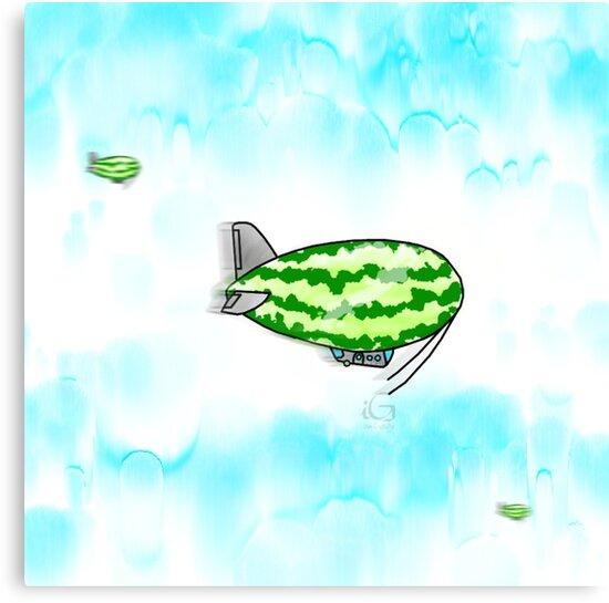Cucamelon Airships  by thebigG2005