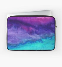 The Sound - Abstract Ombre Watercolor Laptop Sleeve