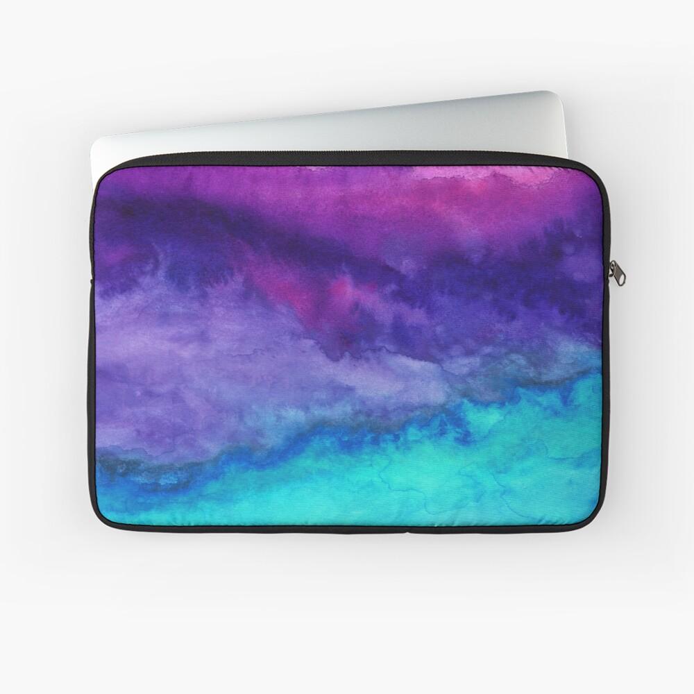 Der Klang - Abstract Ombre Aquarell Laptoptasche
