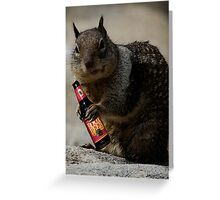 """""""I Love my Root Beer...."""" Greeting Card"""