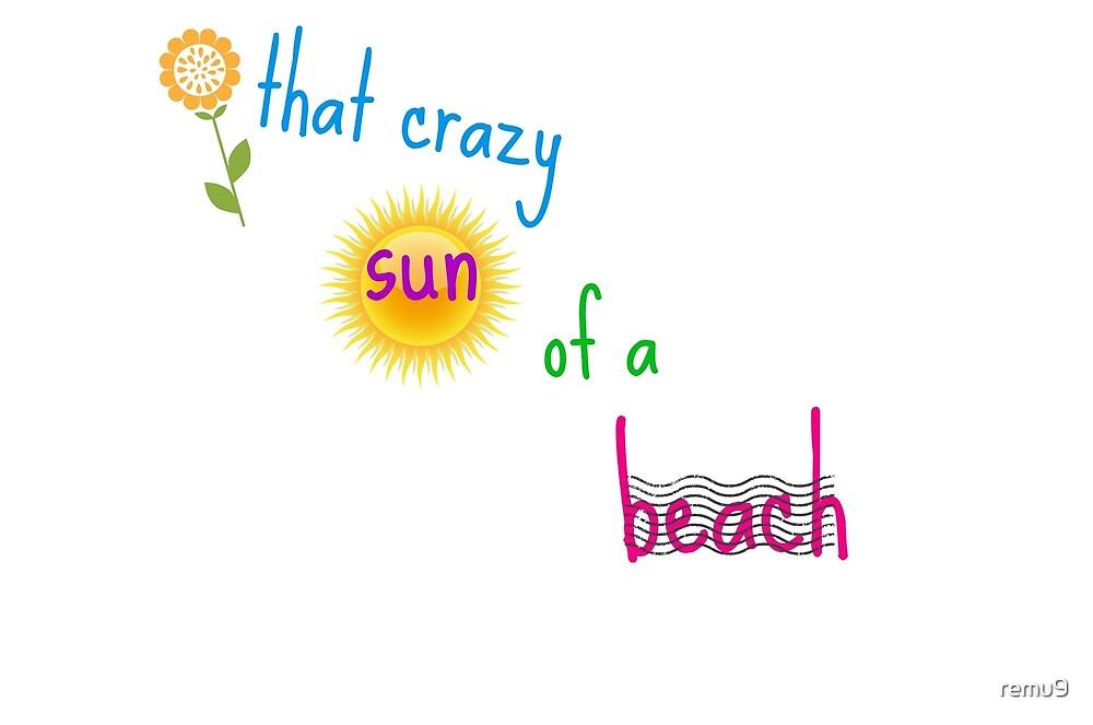 beach. by remu9