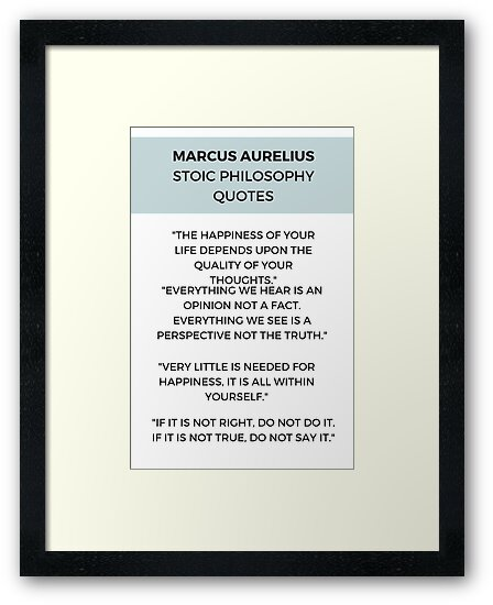 Stoic Philosophy Quotes by IdeasForArtists