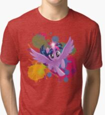 my little pony twilight sparkle Tri-blend T-Shirt