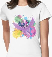 my little pony twilight sparkle Womens Fitted T-Shirt