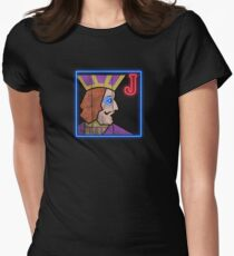 One Eyed Jacks Women's Fitted T-Shirt