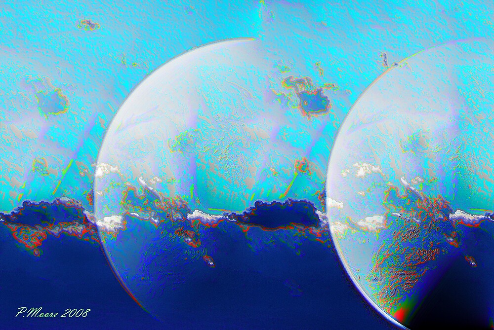 Reflecting Orbs by Pat Moore