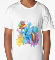 my little pony rainbow dash Long T-Shirt
