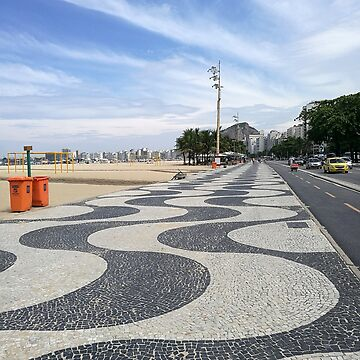 Copacabana beach promenade by ljm000