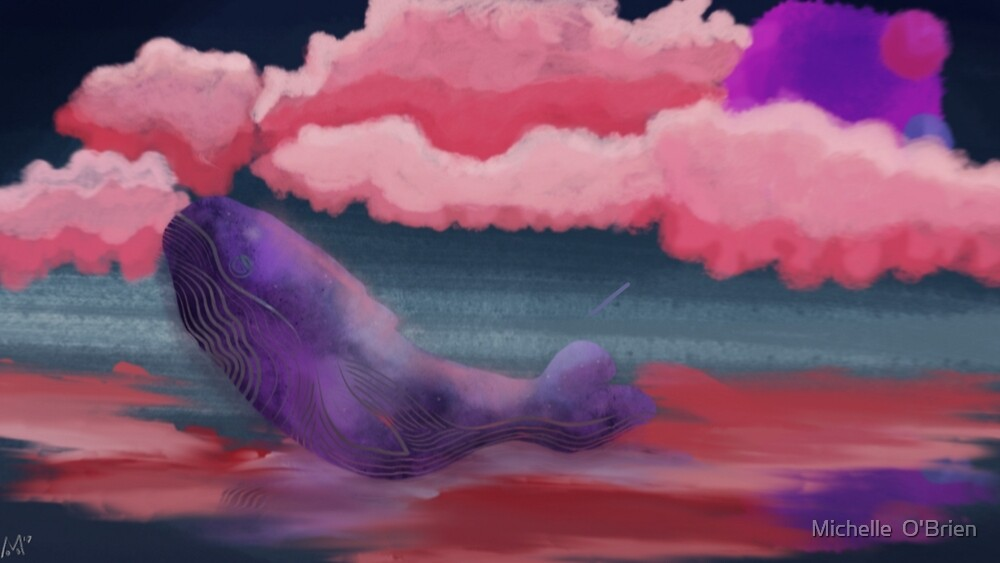 A Space Whale's Journey by Michelle o'brien