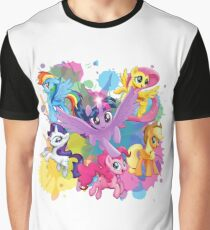 my little pony movie mane 6 Graphic T-Shirt