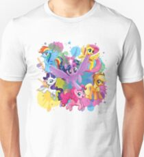 my little pony movie mane 6 T-Shirt