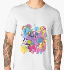 my little pony movie mane 6 Men's Premium T-Shirt