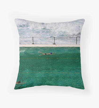 Calm Amid the Storm Throw Pillow