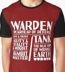 Warden - LoTRO Graphic T-Shirt