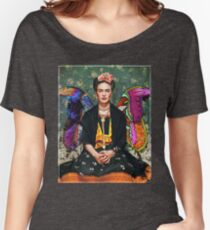 frida kahlo T-shirts coupe relax