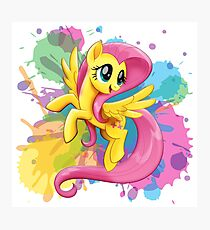 my little pony fluttershy Photographic Print