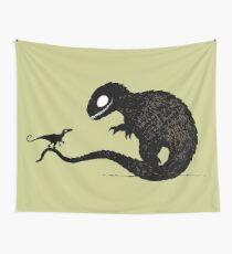 T Rex & Raptor Wall Tapestry