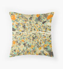 DUBLIN MAP Throw Pillow