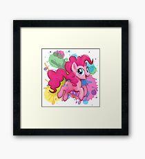 my little pony pinkie pie Framed Print