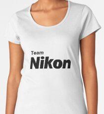 Team Nikon! Women's Premium T-Shirt