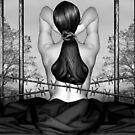 Private Prison of Pain - Self Portrait by Jaeda DeWalt