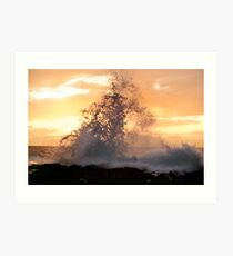 Wave Spray Art Print