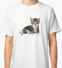Stark Kitten V-Neck Graphic Tee Classic T-Shirt