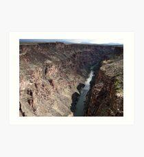 Rio Grande River Art Print