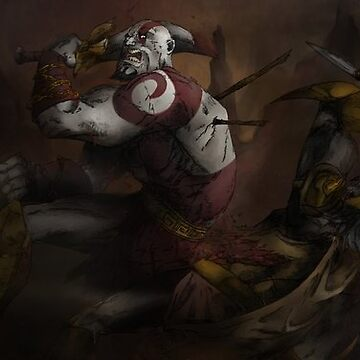 God of War by ashtonish