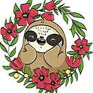 Slothy - the shy sloth  by lunaticpark