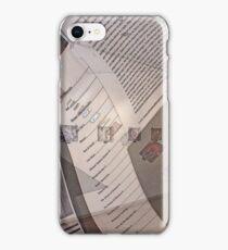 My Work II iPhone Case/Skin
