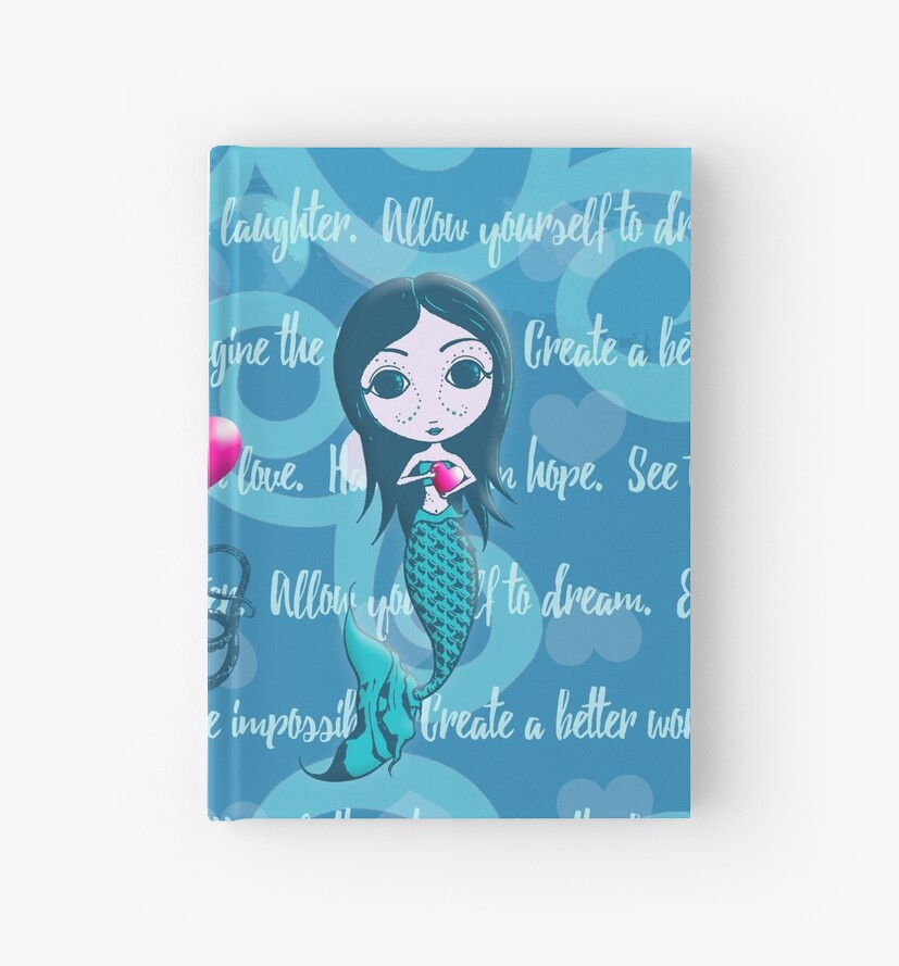 Inspired by You - Teal Mermaid, 1st of 4 by LittleMissTyne