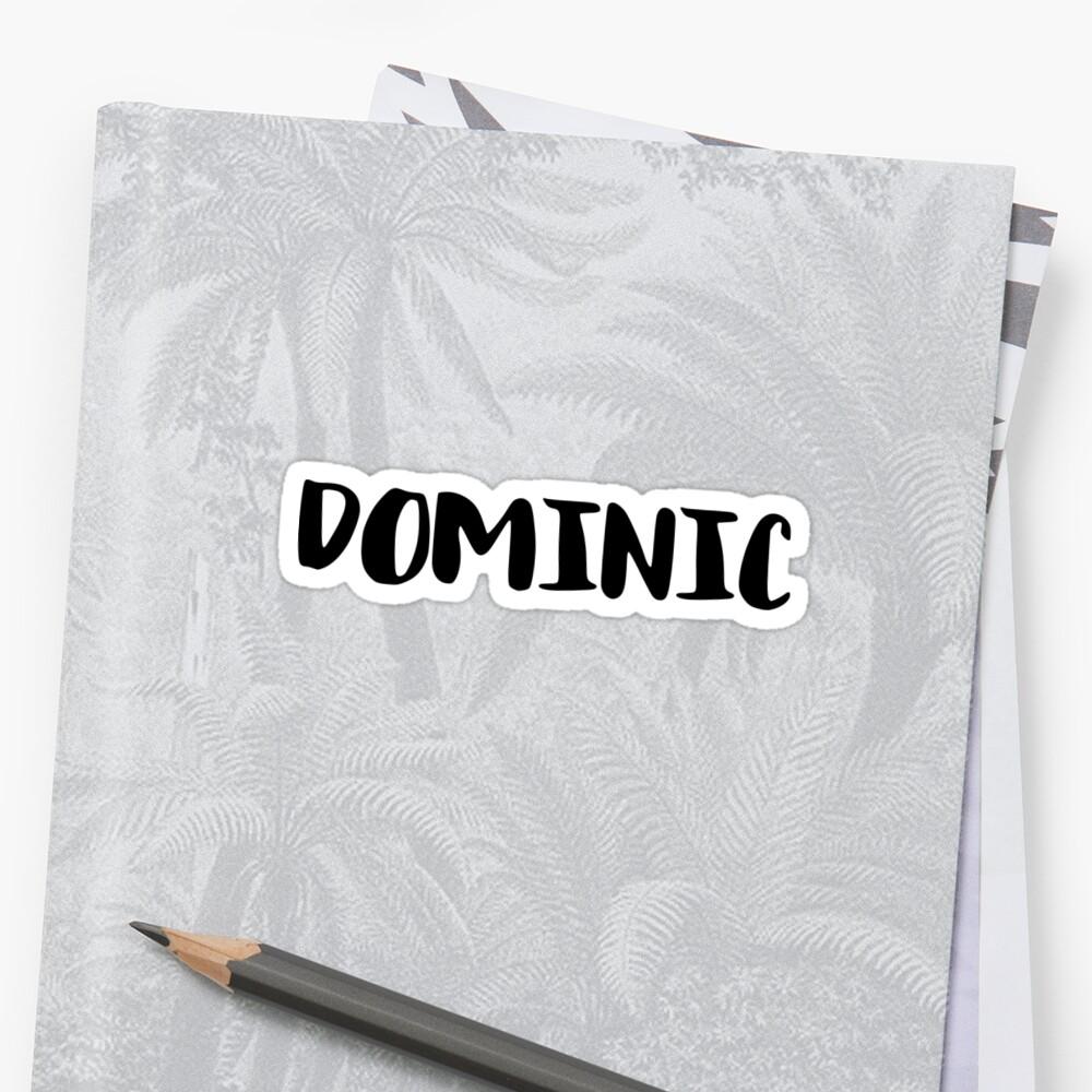 Domonic by FTML