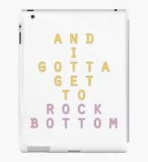 Rock Bottom iPad Case/Skin