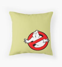 Ghostbusters Logo Throw Pillow