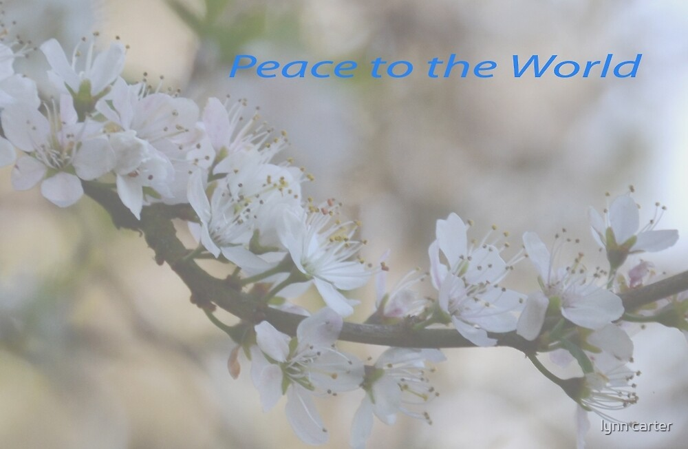 Peace To The World............... by lynn carter