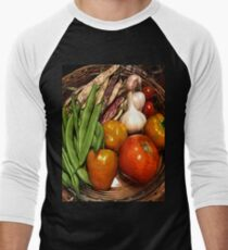 VeggiePlanet 10 Men's Baseball ¾ T-Shirt