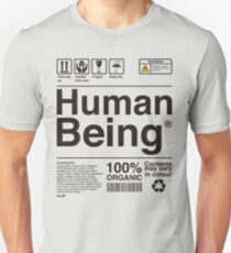 Human Being Science Ingredients tshirts Unisex T-Shirt