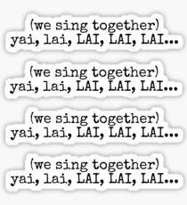 sing together Sticker