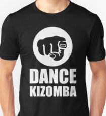 Dance Kizomba - Logo white T-Shirt
